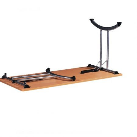 Height adj electric sit stand desk 1400 x 600 501 27 - Table pied pliant ...