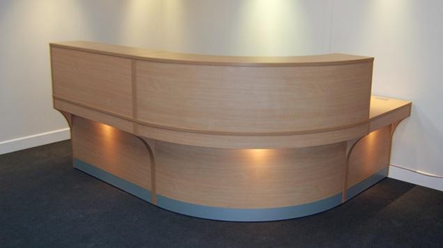 AARON RECEPTION UNIT Blandford fice Furniture