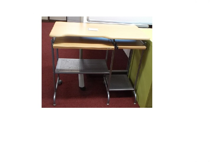 Beech Sm Desk Blandford Office Furniture
