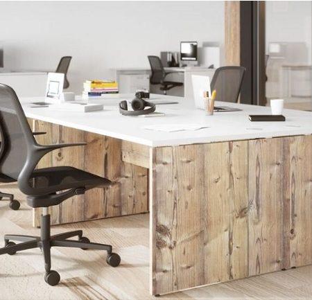 Panel End Desk B Office